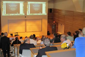 Annual Address at St. Michael's new auditorium in the Li Ka Shing