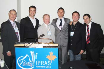 IPRAS Presenters (From left to right) Ron Zuker, Isaac Harvey, Howard Clarke, M. Bezuhly, Greg Borschel, Adel Fattah